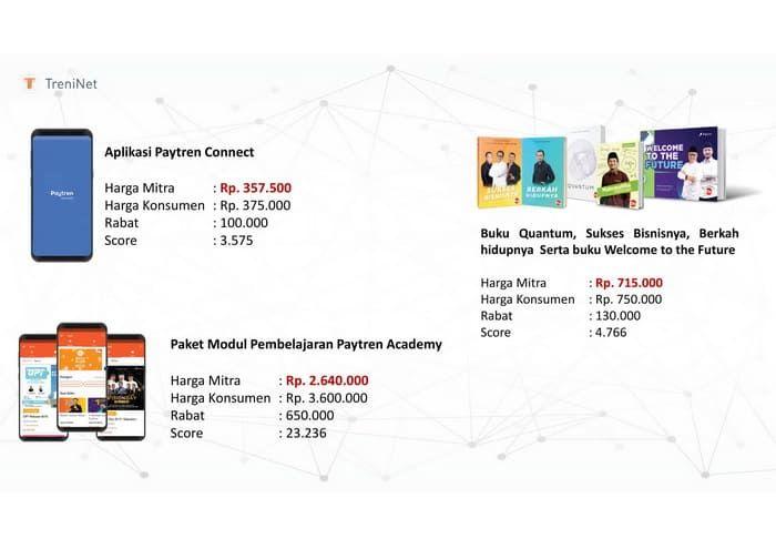Aplikasi Paytren Connect Rencana Pemasaran The Plan Marketing