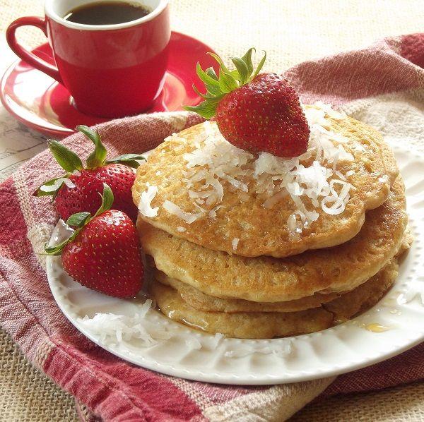 Coconut Milk Quinoa Pancakes