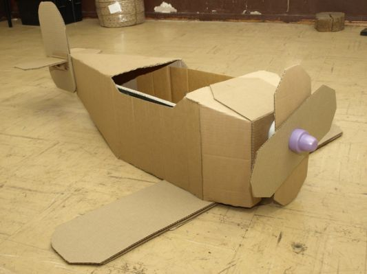 Kim Blog: Cardboard Airplane Templates