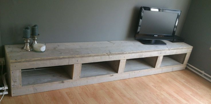 steigerhout meubelen tekeningen tv meubel