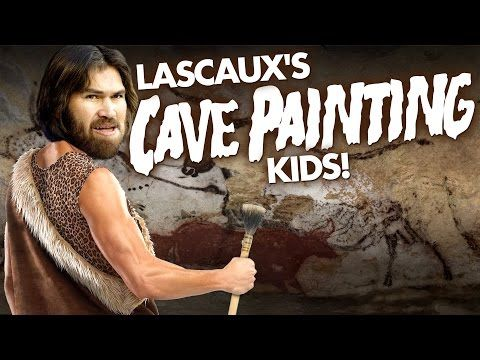 The Adventures of Lascaux's Cave Painting Kids | Laughing Historically - YouTube
