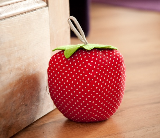strawberry door stop