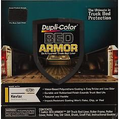 Duplicolor Bed Armor, DIY Truck Bed Liner, Black, 128 oz. Gallon Kit BAK2010: Search no more for the best Bed Liner - Spray-On at Advance Auto Parts