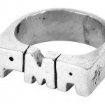 PMA ring in sterling silver by Windfall Jewellery