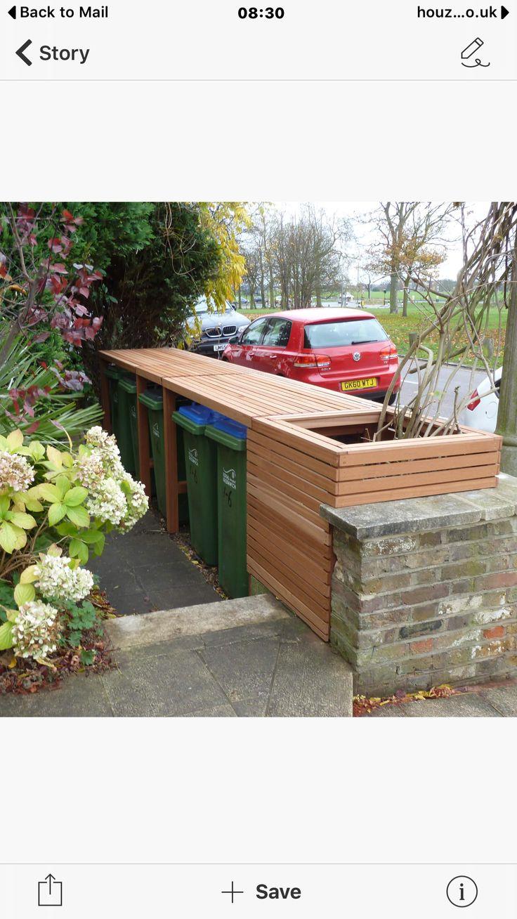 Bemerkenswert Ideen Mülltonnen Verstecken Referenz Von Bin Storage, Superble Tree, Lounge Ideas, Garden