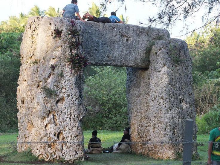 Arco de Ha'amonga, en la isla de Tongatapu