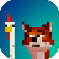 Fox Eats Chicks por Geza Maurer