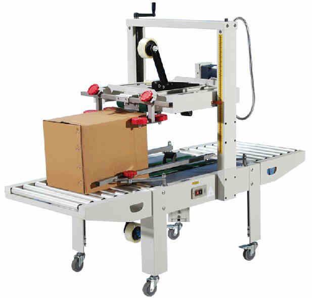 FXJ 6050 commercial automatic Carton sealer, carton sealing machine,adhesive BOPP PVC tape carton package machine by sea #Affiliate