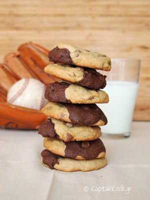 Captain Cook: Διπλά Μπισκότα (Fudge και Chocolate Chip)