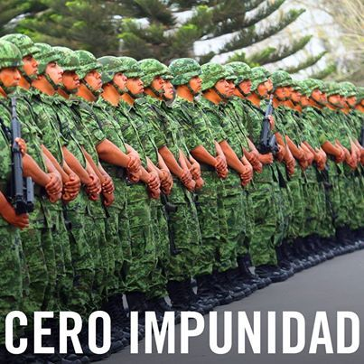En el día del ejército mexicano queremos recordarle a las autoridades la importancia de una pronta reforma al Código de Justicia Militar.  ¡Alto a la impunidad! Exige justicia para las víctimas de abusos por parte de las fuerzas armadas en: www.alzatuvoz.org/codigojusticia