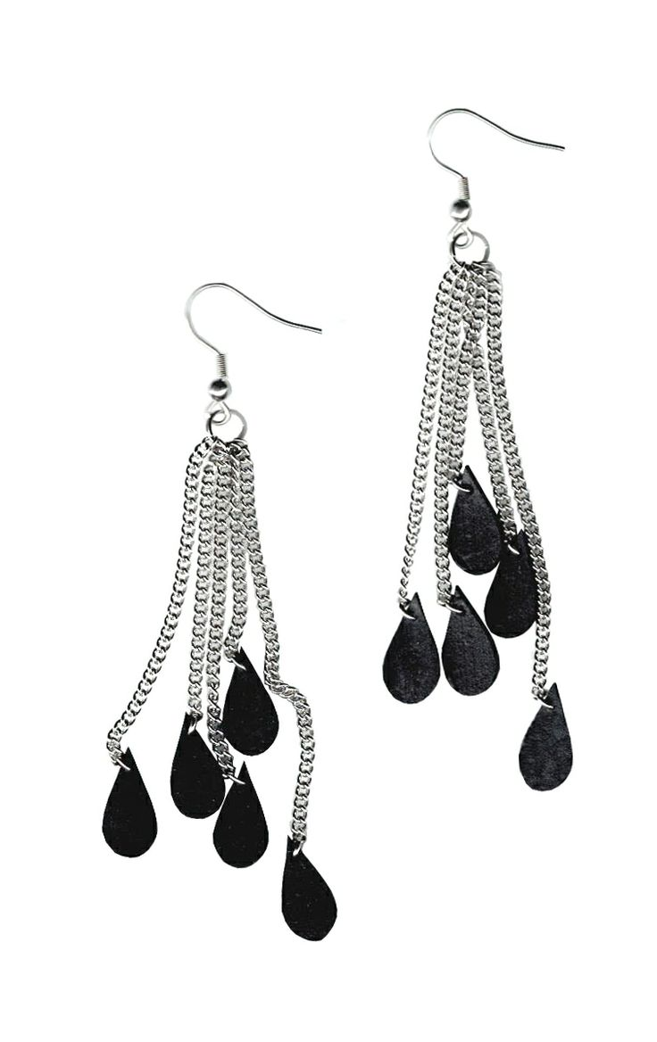 Rain On Me earrings, 20 €. http://shop.nousevamyrsky.fi #earrings #ecofashion
