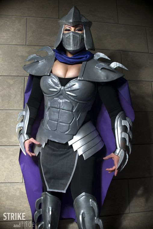 Ruth: Hi again! As well as my Lich King I worked a few months ago on a really fun Shredder costume. I wanted to recreate something that would be fierce and...