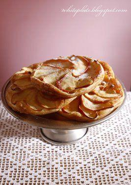 Tartaletki z jabłkami   White Plate