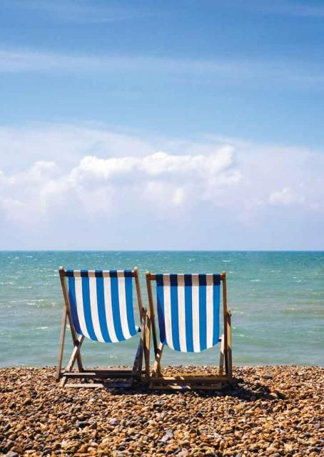 Two Deck Chairs, Brighton (B2R/B2S)