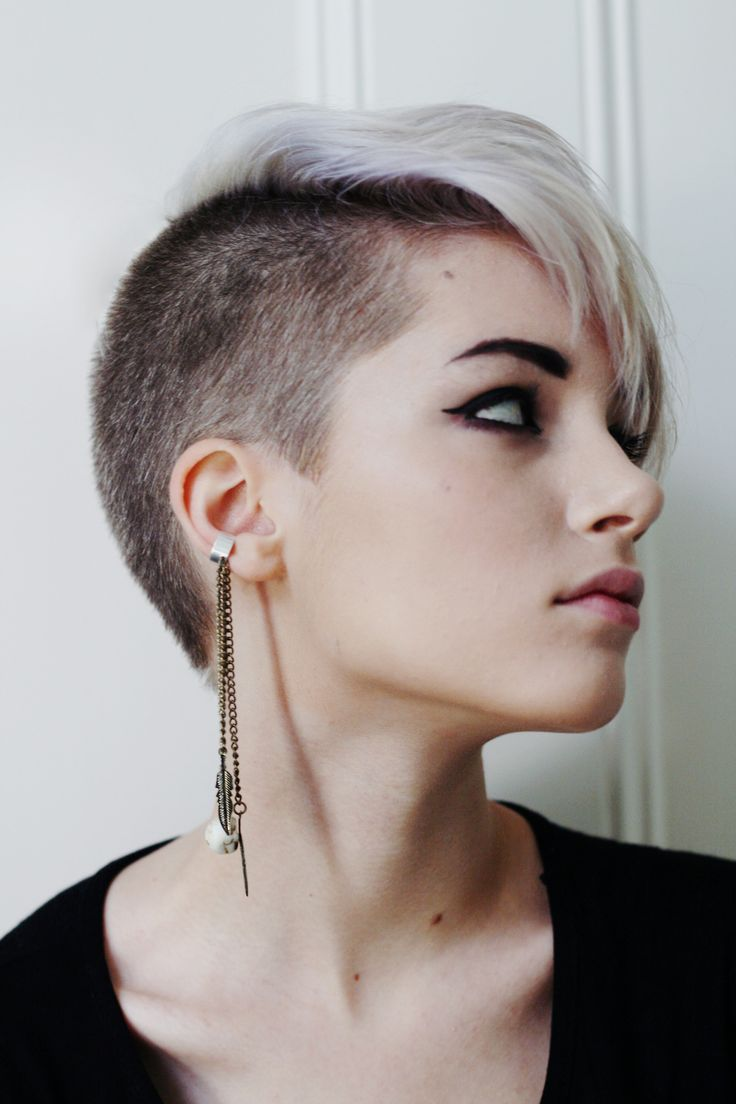 Swell 812 Best Images About Mohawk For The Woman On Pinterest Long Hairstyle Inspiration Daily Dogsangcom