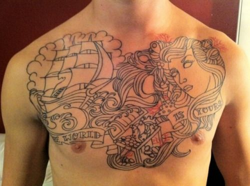 25 best the world is mine tattoo images on pinterest for The world is yours tattoo