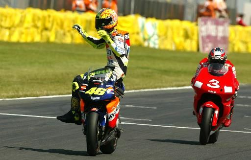 Valentino Rossi.... Only you