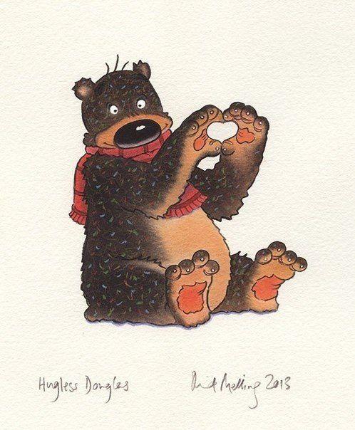 Открытка с медведями смешные, картинках