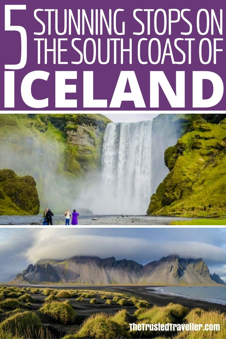 Discover 5 amazing Stops on the South Coast of Iceland