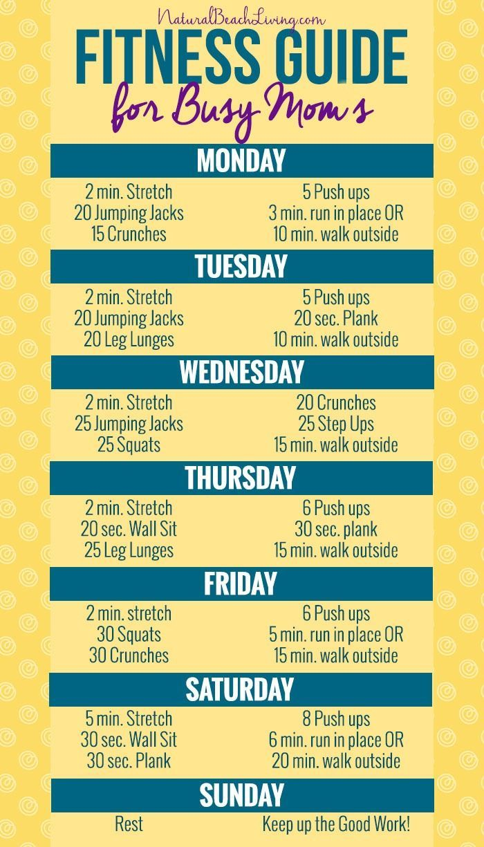 The Best Ways for Busy Moms to Look and Feel Great, healthy meal planning, easy workouts for home that everyone can do, Fitness plan and Free Workout Plan
