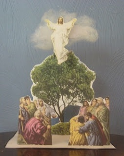 The Ascension of Jesus ~ 3-D Craft