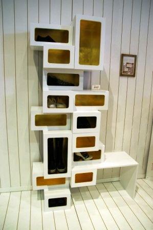 12 most beautiful design of shoe rack 6