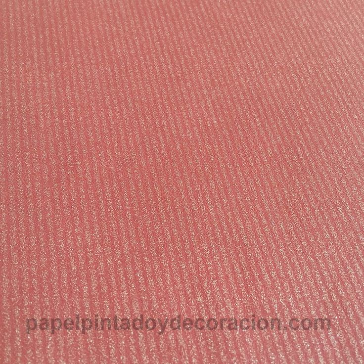 Papel pintado rojo rayas doradas textura rugosa PDA8125828