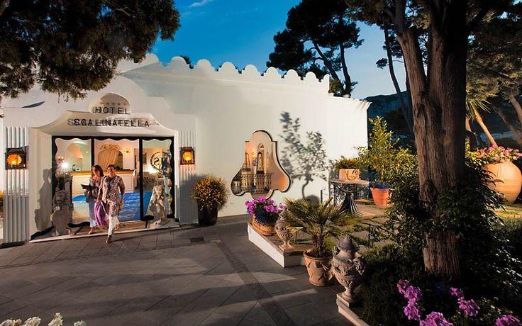 Hotel Scalinatella, Capri, Italy