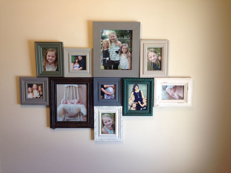living room frames 9 best collage picture frames images on photo 10455
