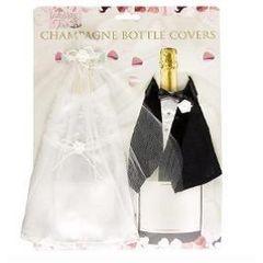 WEDDING - CHAMPAGNE BOTTLE DECOR for R20.00
