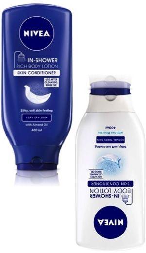 Best Bargain Beauty Buys: Nivea In Shower Body Lotion