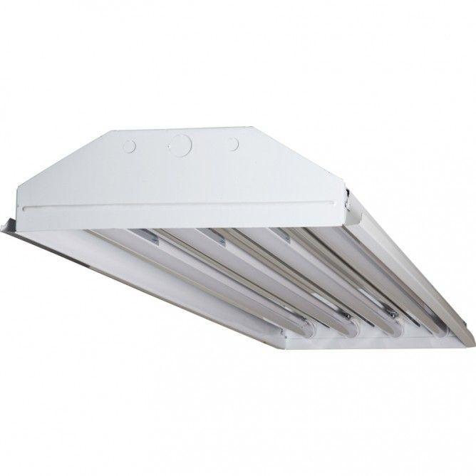 Techbrite B4144ssumxx 18w5k 4 Lamp T8 Led High Bay 10 420 Lumens 5000k 120 277v Prolighting 5000k T8 Led Led Tubes