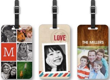 Free Luggage Tag from Shutterfly
