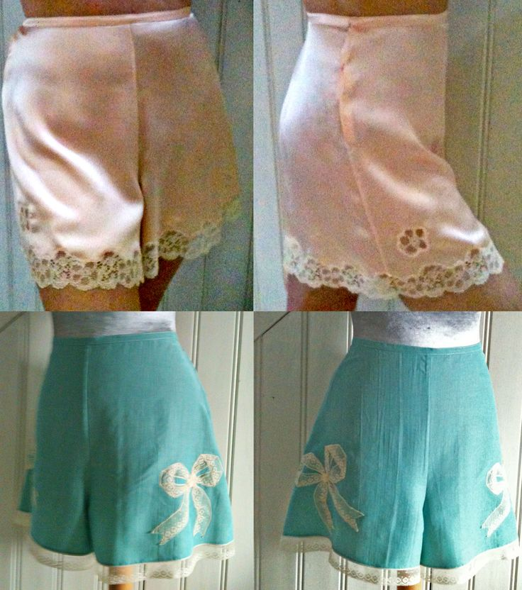 DIY French Knickers / Panties - Free 1940s Style Pattern and Tutorial