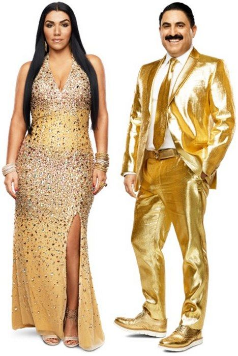 Asa Soltan Rahmati and Reza Farahan of Shahs Of Sunset