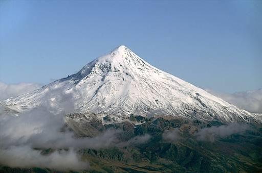 Volcan Lanin in Argentina
