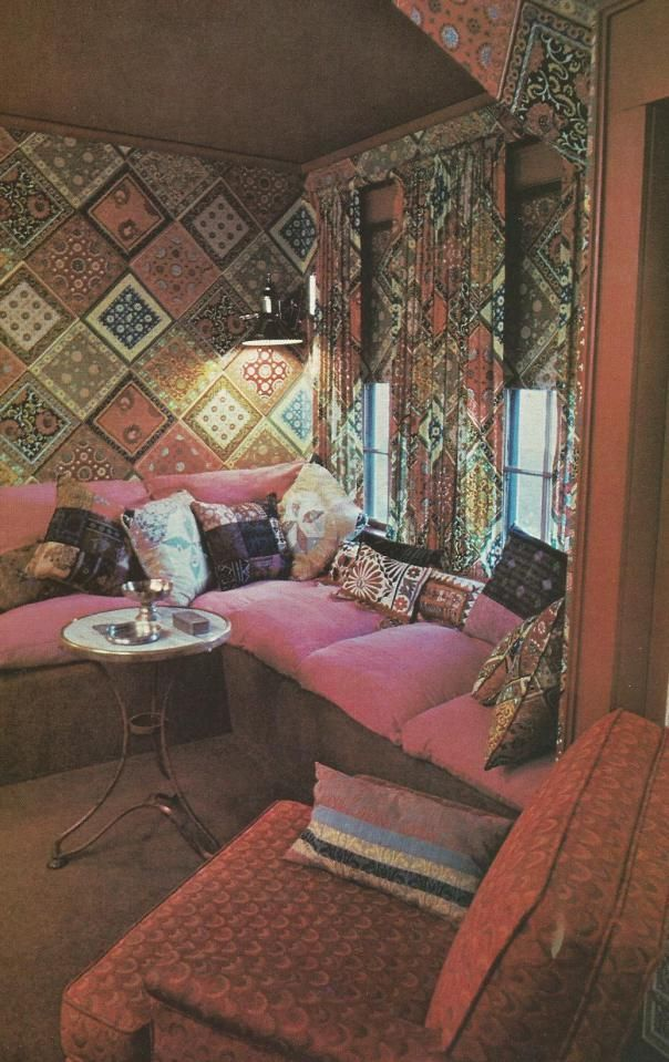 Vintage Home Interior Design: 109 Best 1970's Decor & Bric-a-Brack Images On Pinterest