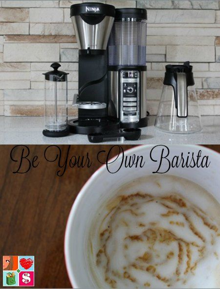 You can brew your perfect cup of coffee, any way you want it, at home thanks to the Ninja Coffee Bar. Cold, hot, a specialty drink! Be Your Own Barista!