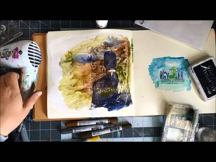 Distress Crayons are such fun! Love melting them, adding water, and more. Here in this video I share several methods.