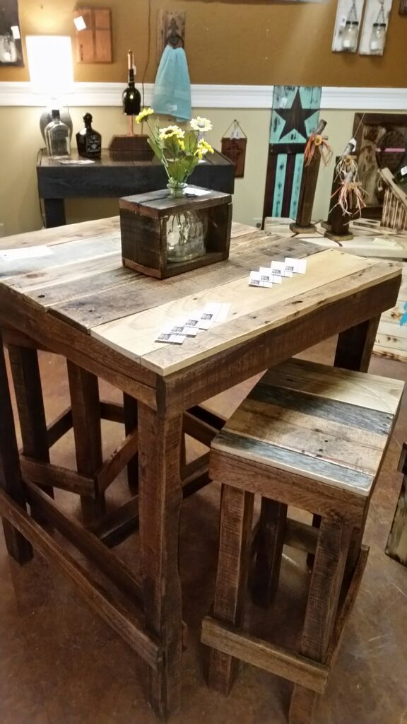 Terrific Rustic Bar Height Table For Sale In Rock Hill Sc In 2019 Home Interior And Landscaping Synyenasavecom
