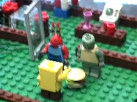 Lego Spongebob: The Bomb Flood