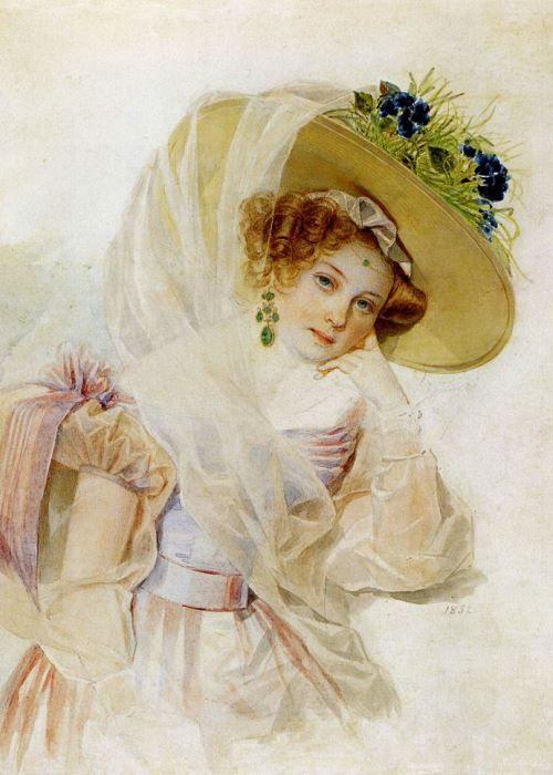 Благодаря портретам кисти Петра Соколова наши современники могут представить, как выглядели первые красавицы пушкинской эпохи. А благодаря воспоминаниям современников – сделать выводы о том, какими они...