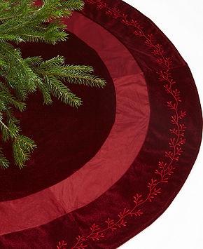 Christmas Tree Skirt, Personalized Christmas Tree Skirt, FREE  Personalization, Monogrammed Tree Skirt,