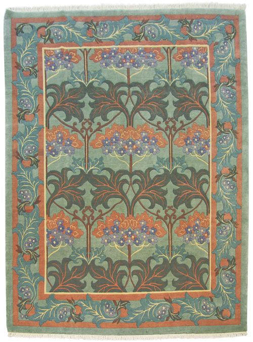fintona 9x12 voysey design rug iu0027m not crazy about the colors but
