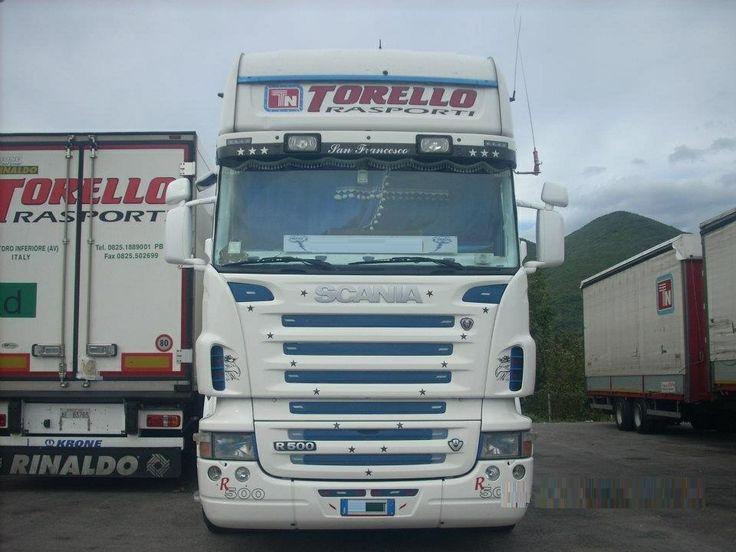 scania r 500 v 8 tn  torello trasporti