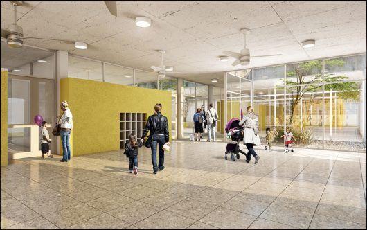 """""""Polo Mataderos"""" en la Ciudad de Buenos Aires. Entornos de Aprendizaje Eficaces: nuevos modelos de arquitectura escolar pública"""