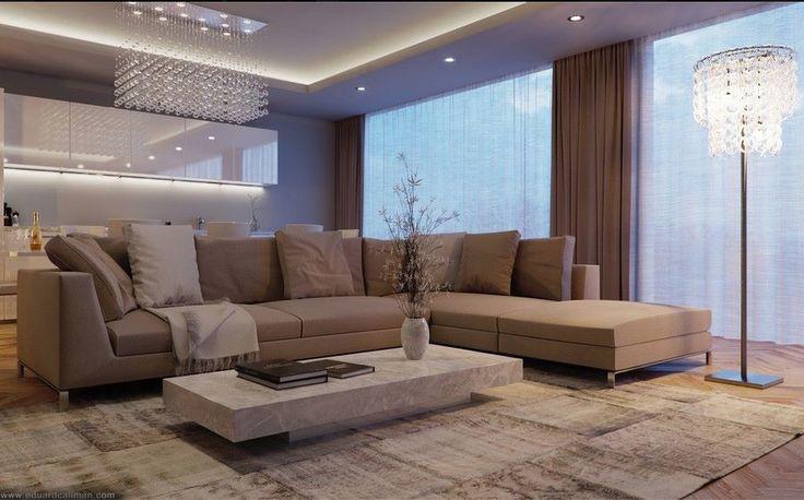 Colori soggiorno ~ Soggiorno colori caldi interior design modern and