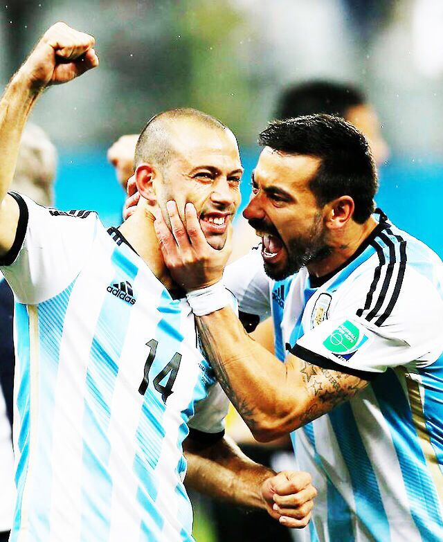 Javier Mascherano & Ezequiel Lavezzi - Selección Argentina