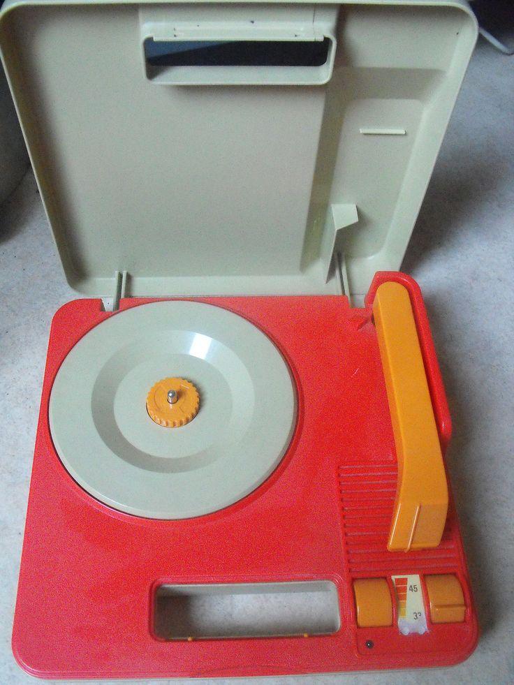 tourne disque fisher price 820 vintage toys jouet ancien 1983 ebay toys pinterest. Black Bedroom Furniture Sets. Home Design Ideas
