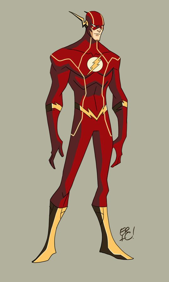 Character Design In Flash : Animated new justice league design by eric guzman